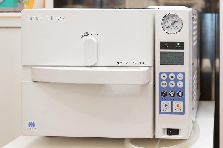 高圧蒸気滅菌器(ガス滅菌)